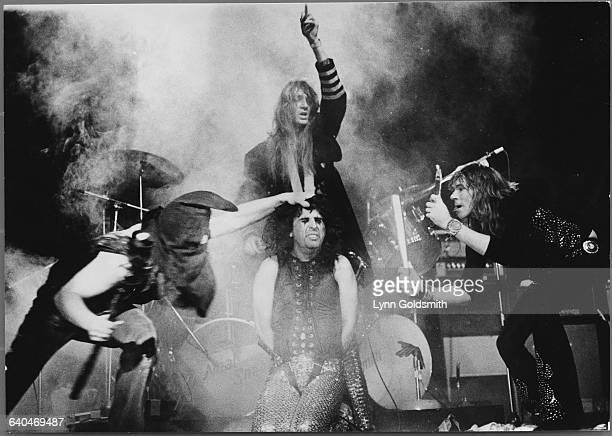 Alice Cooper and His Band on Stage