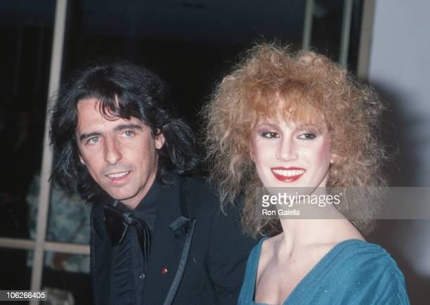 Alice Cooper and Sheryl Cooper during Sheryl Cooper and Alice Cooper Sighting at Le Dome Restaurant April 1 1978 at Le Dome Restaurant in West...