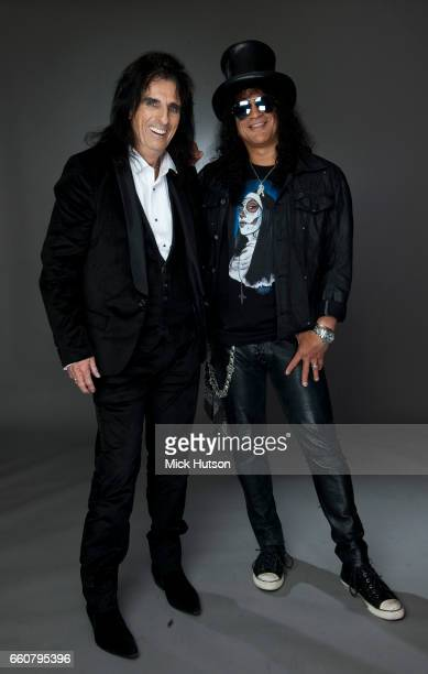 Alice Cooper and Slash London 10th November 2010