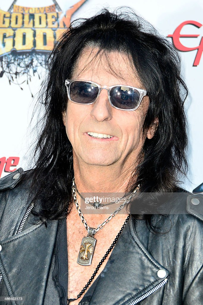<a gi-track='captionPersonalityLinkClicked' href=/galleries/search?phrase=Alice+Cooper&family=editorial&specificpeople=202989 ng-click='$event.stopPropagation()'>Alice Cooper</a> arrives at the 2014 Revolver Golden Gods Awards at Club Nokia on April 23, 2014 in Los Angeles, California.