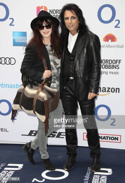Alice Cooper attends Nordoff Robbins O2 Silver Clef awards at The Grosvenor House Hotel on June 30 2017 in London England