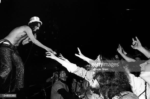 Alice Cooper concert Boston Garden Boston Massachusetts 1972