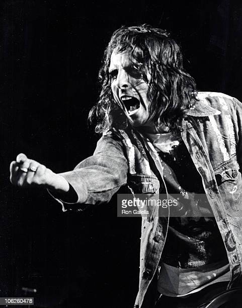 Alice Cooper during Alice Cooper in Concert at Madison Square Garden May 5 1975 at Madison Square Garden in New York City New York United States
