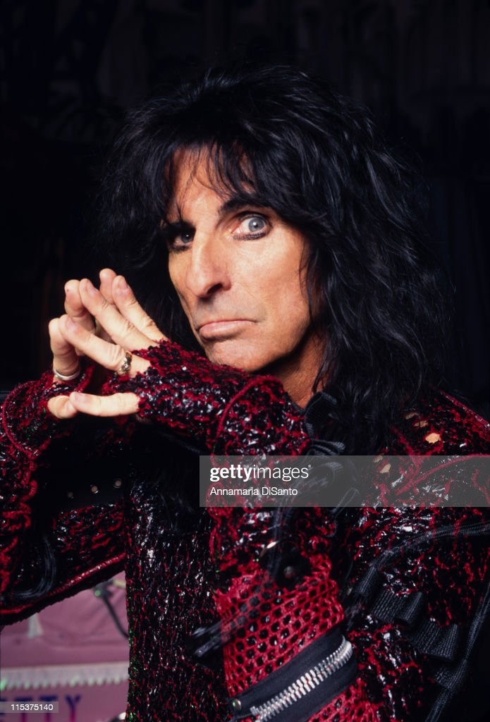 Alice Cooper Photo Session