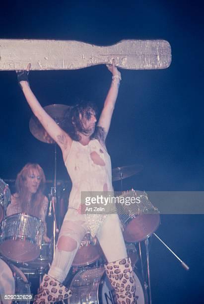 Alice Cooper in performance circa 1970 New York