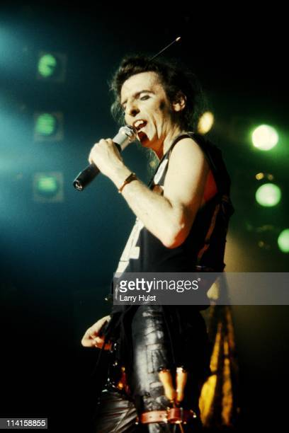 Alice Cooper performing at Cal Expo in Sacramento California in July 141991