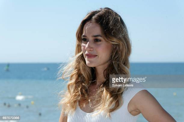 Alice David attends 'Les ex' photocall during 4th day of 31st Cabourg Film Festival on June 17 2017 in Cabourg France