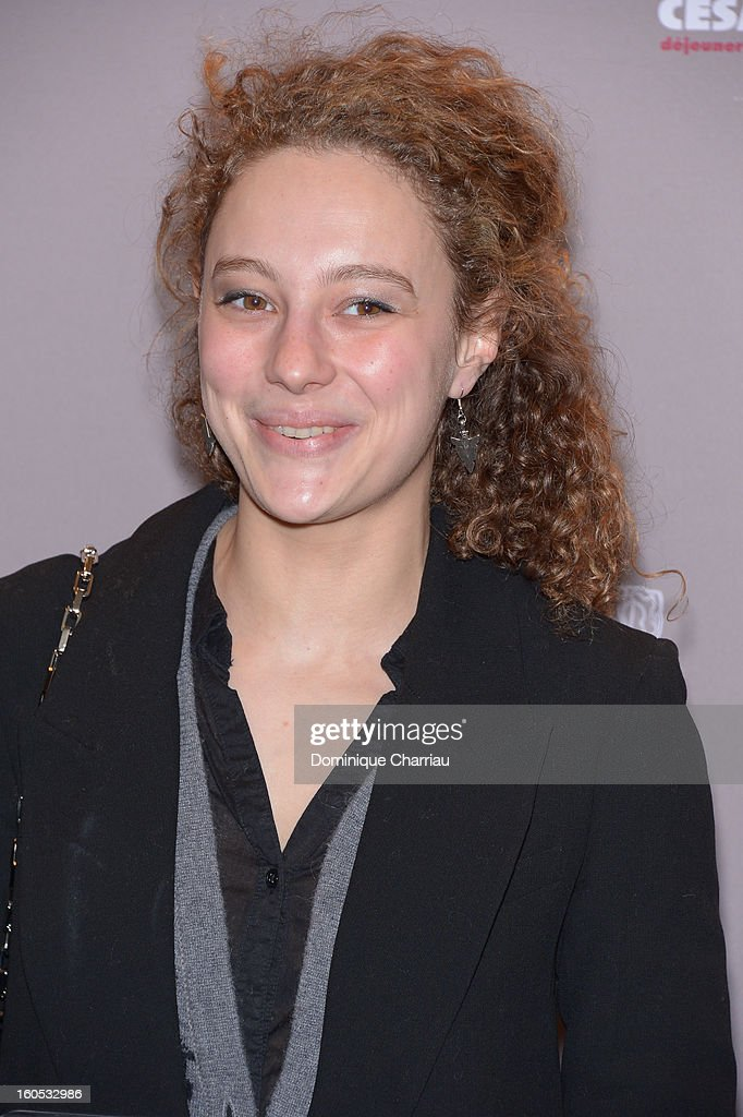 Alice de Lenquesaing attends the Cesar 2013 Nominee Lunch at Le Fouquet's on February 2, 2013 in Paris, France.
