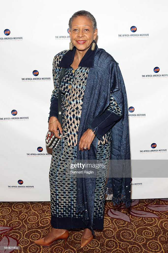 Alice Dear attends Africa-America Institute 60th Anniversary Awards Gala at New York Hilton on September 25, 2013 in New York City.