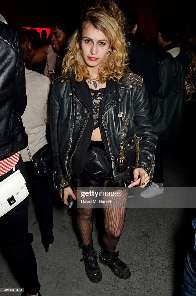 <a gi-track='captionPersonalityLinkClicked' href=/galleries/search?phrase=Alice+Dellal&family=editorial&specificpeople=4261908 ng-click='$event.stopPropagation()'>Alice Dellal</a> attends as Mark Ronson hosts a party to celebrate the launch of his new album 'Uptown Special' at Television Centre White City on January 23, 2015 in London, England.