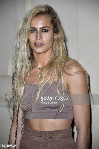 Alice Dellal attends the Chanel 'Code Coco' Watch Launch Party as part of the Paris Fashion Week Womenswear Spring/Summer 2018 on October 3 2017 in...