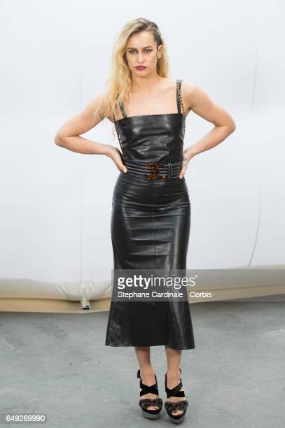 Alice Dellal attends the Chanel show as part of the Paris Fashion Week Womenswear Fall/Winter 2017/2018 on March 7 2017 in Paris France