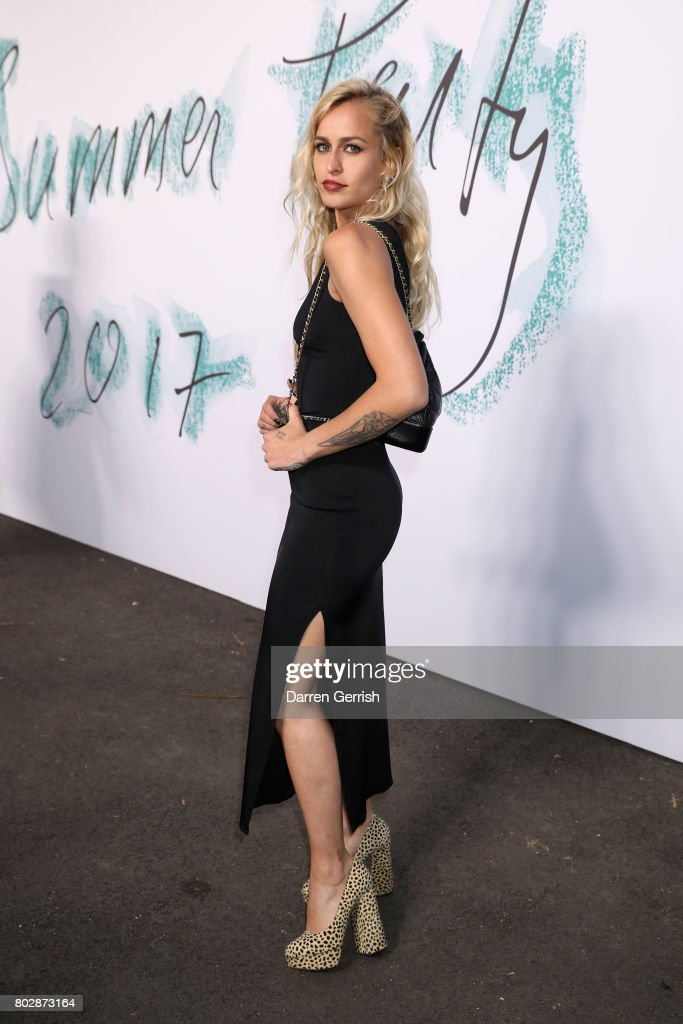 Alice Dellal attends the Summer Party 2017 presented by Serpentine and Chanel at The Serpentine Gallery on June 28, 2017 in London, England.