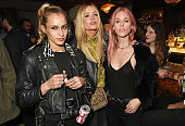 Alice Dellal Laura Whitmore and Mary Charteris attend the Massive Attack after party at 100 Wardour St following their performance at the Barclaycard...