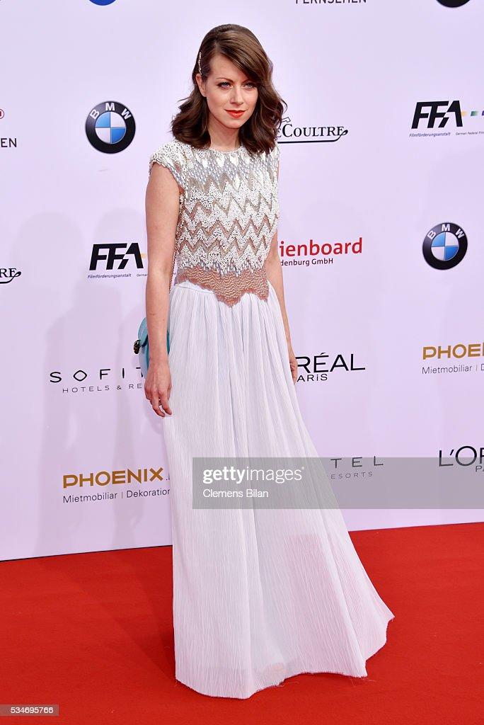 Alice Dwyer attends the Lola - German Film Award (Deutscher Filmpreis) on May 27, 2016 in Berlin, Germany.