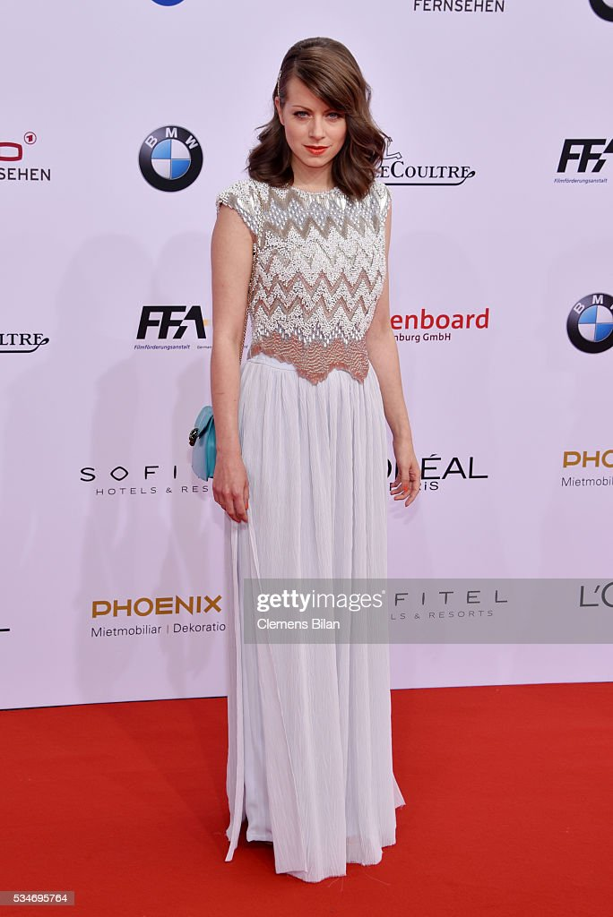 Alice Dwyer attends the Lola - German Film Award (Deutscher Filmpreis) on May 27, 2016 in Berlin, Germany.