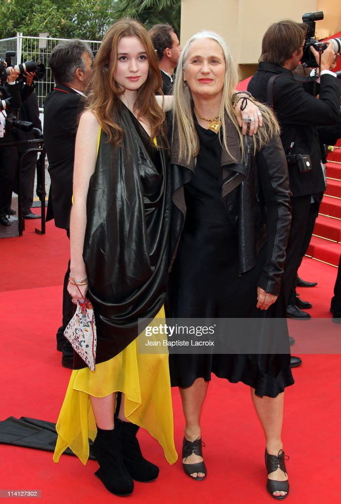 Alice Englert and Jane Campion attend the 'Sleeping Beauty' Premiere during the 64th Annual Cannes Film Festival at the Palais des Festivals at Palais des Festivals on May 12, 2011 in Cannes, France.