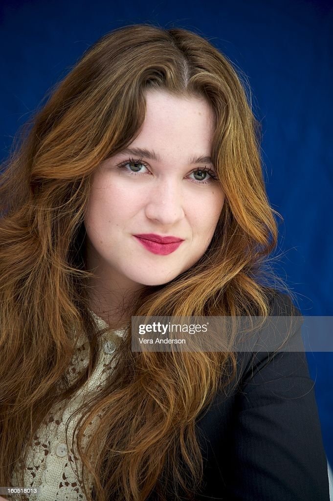 Alice Englert at the 'Beautiful Creatures' Press Conference at the SLS Hotel on February 1, 2013 in Beverly Hills, California.