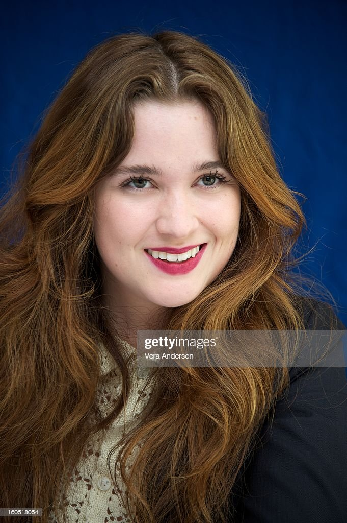<a gi-track='captionPersonalityLinkClicked' href=/galleries/search?phrase=Alice+Englert&family=editorial&specificpeople=616562 ng-click='$event.stopPropagation()'>Alice Englert</a> at the 'Beautiful Creatures' Press Conference at the SLS Hotel on February 1, 2013 in Beverly Hills, California.