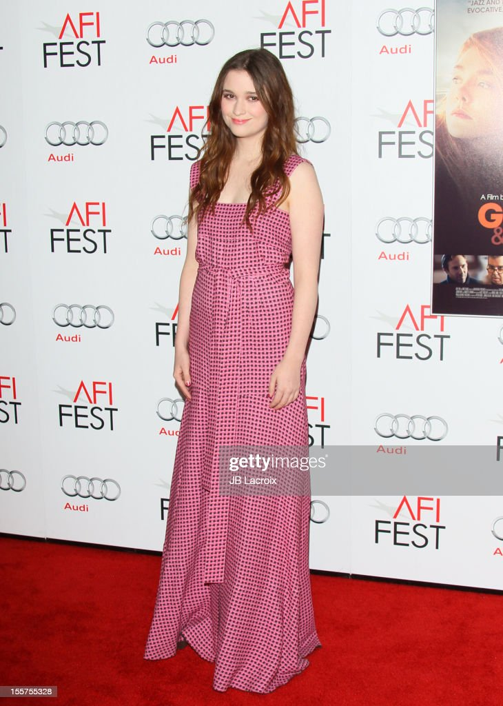 Alice Englert attends the 2012 AFI FEST 'Ginger & Rosa' Special Screening at Grauman's Chinese Theatre on November 7, 2012 in Hollywood, California.