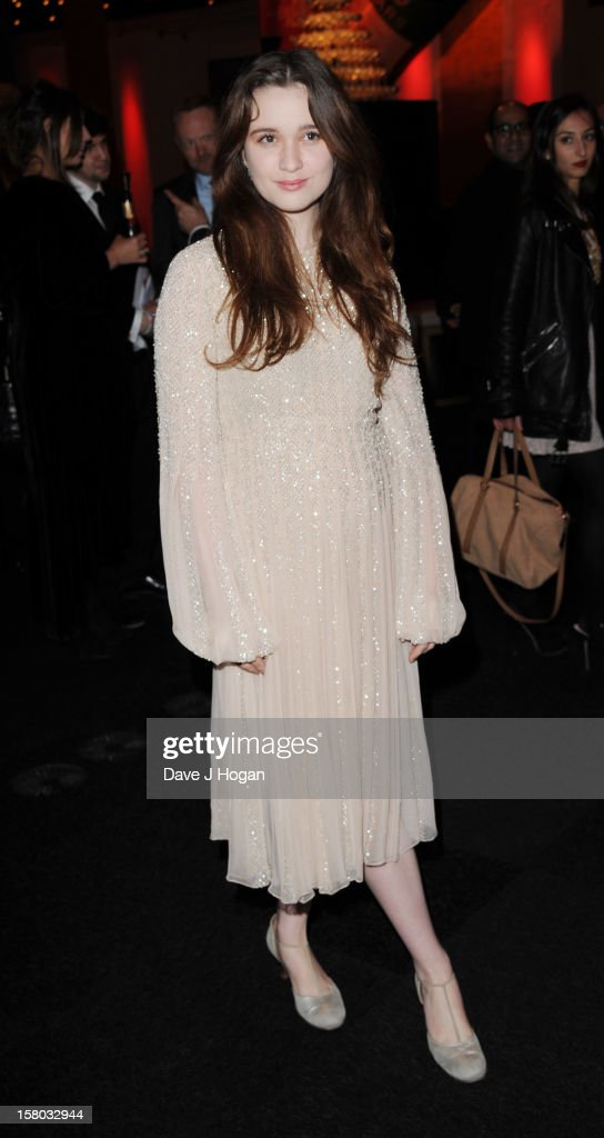 Alice Englert attends the British Independent Film Awards at Old Billingsgate in London on December 9, 2012 in London, England.