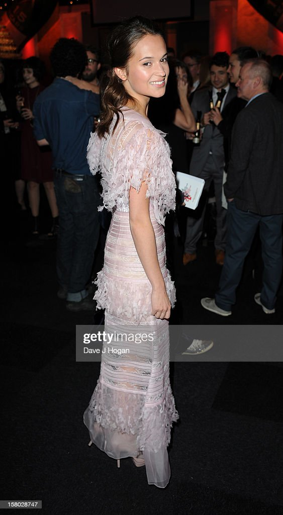 Alice Englert attends the British Independent Film Awards on December 9, 2012 in London, England.