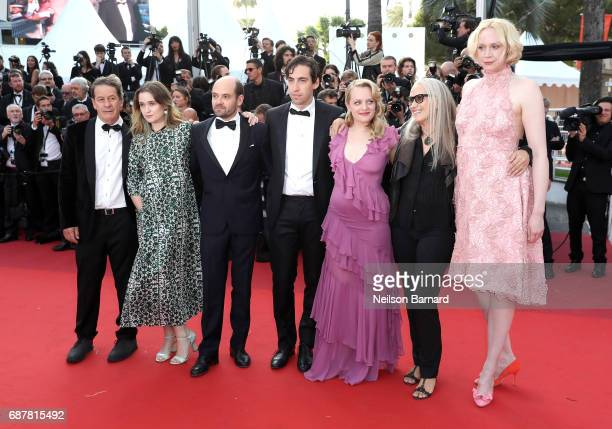 Alice Englert David Dencik Ariel Kleiman Elisabeth Moss Jane Campion and Gwendoline Christie of 'Top of the Lake China Girl' attend the 'The...