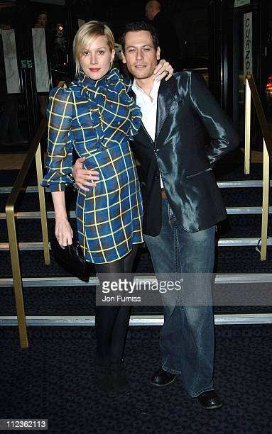 Alice Evans and Ioan Gruffudd during George Michael's 'A Different Story' Gala London Screening Inside at Curzon Mayfair in London Great Britain