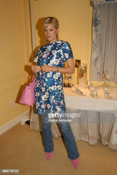 Alice Evans attend the Jimmy Choo and Perrier Jouet suite at the Peninsula Hotel on February 23 2004 in Beverly Hills CA