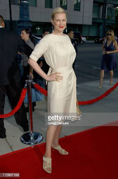 Alice Evans during 'Sicko' Los Angeles Premiere Arrivals at Academy Theatre in Beverly Hills California United States