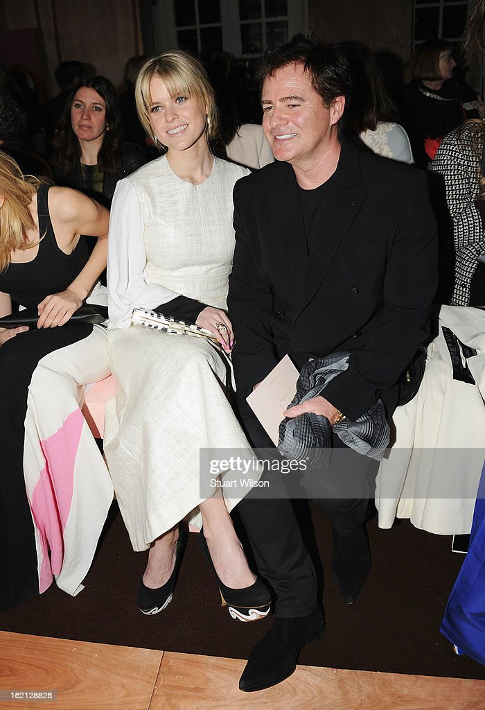 <a gi-track='captionPersonalityLinkClicked' href=/galleries/search?phrase=Alice+Eve+-+Actress&family=editorial&specificpeople=570229 ng-click='$event.stopPropagation()'>Alice Eve</a> and Charles Worthington attend the Roksanda Ilincic show during London Fashion Week Fall/Winter 2013/14 at The Savoy on February 19, 2013 in London, England.
