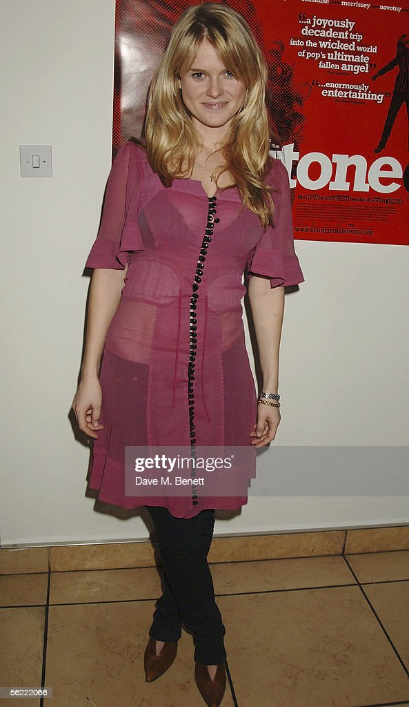 Alice Eve attends the aftershow party followlng the UK Premiere of 'Stoned,' at Century on November 17, 2005 in London, England. The British film chronicles the life and death of Rolling Stones co-founder Brian Jones, found drowned just weeks after being let go from the band.