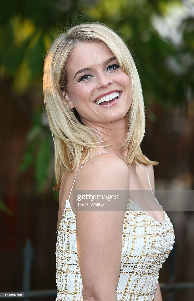 Alice Eve attends the annual Serpentine Gallery summer party at The Serpentine Gallery on June 26, 2013 in London, England.