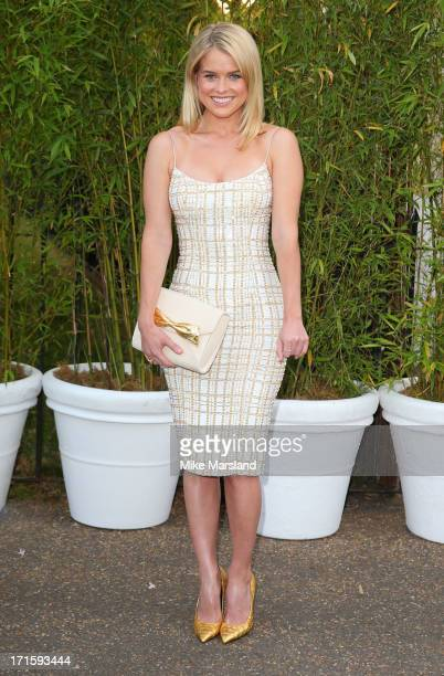 Alice Eve attends the annual Serpentine Gallery summer party at The Serpentine Gallery on June 26 2013 in London England
