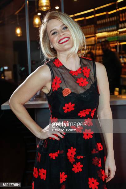 Alice Eve attends the 'Bees Make Honey' official screening during the Raindance Film Festival at the Vue West End on September 23 2017 in London...