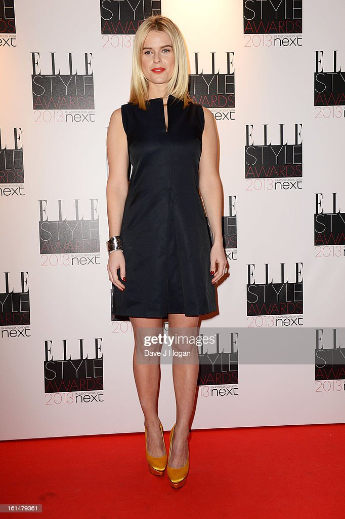 Alice Eve attends The Elle Style Awards 2013 at The Savoy Hotel on February 11, 2013 in London, England.