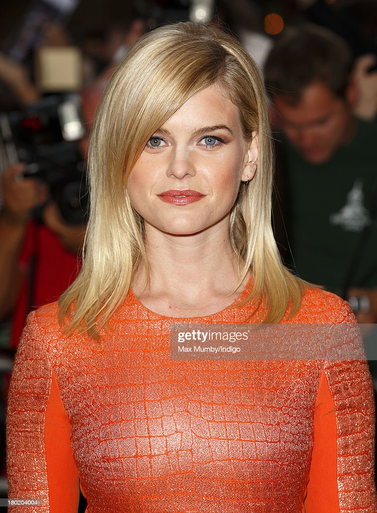 Alice Eve attends the GQ Men of the Year awards at The Royal Opera House on September 3, 2013 in London, England.