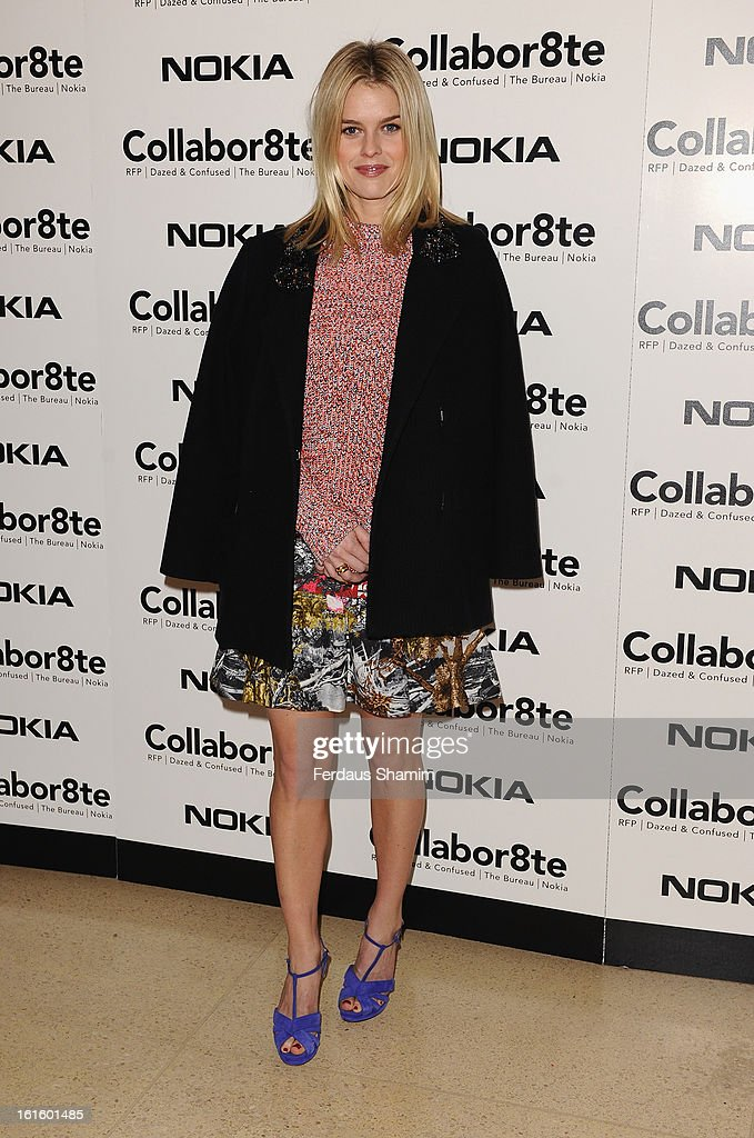 <a gi-track='captionPersonalityLinkClicked' href=/galleries/search?phrase=Alice+Eve+-+Actress&family=editorial&specificpeople=570229 ng-click='$event.stopPropagation()'>Alice Eve</a> attends the premiere of Rankin's Collabor8te connected by NOKIA at Regent Street Cinema on February 12, 2013 in London, England.