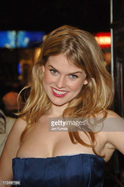 Alice Eve during 'Starter for 10' London Premiere Inside Arrivals at Coronet Cinema in London Great Britain