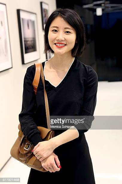 Alice Gao attends the Stories Untold Conde Nast Collection Presented By Getty Images Opening Celebration at The Conde Nast Gallery on March 24 2016...