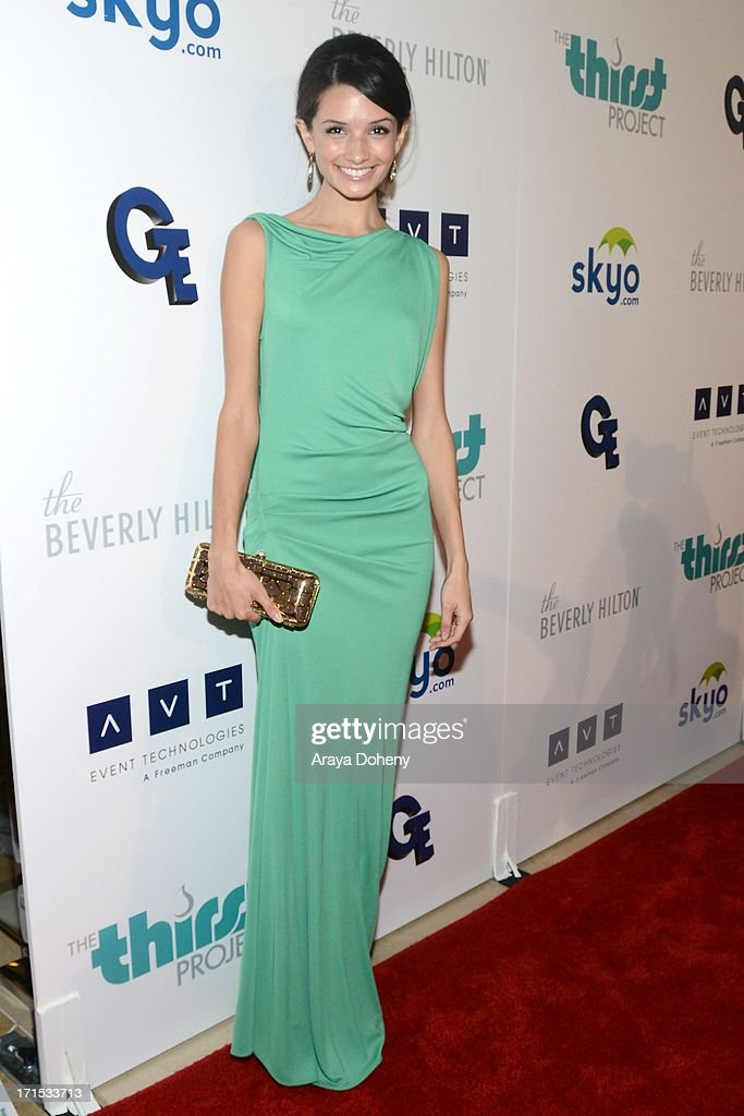 Alice Greczyn attends the 4th Annual Thirst Gala at The Beverly Hilton Hotel on June 25, 2013 in Beverly Hills, California.