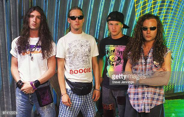 Alice In Chains Sean Kinney Jerry Cantrell Layne Staley and Mike Starr