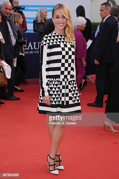Alice Isaaz arrives at the Closing Ceremony and 'Sicario'Premiere during the 41st Deauville American Film Festival on September 12 2015 in Deauville...