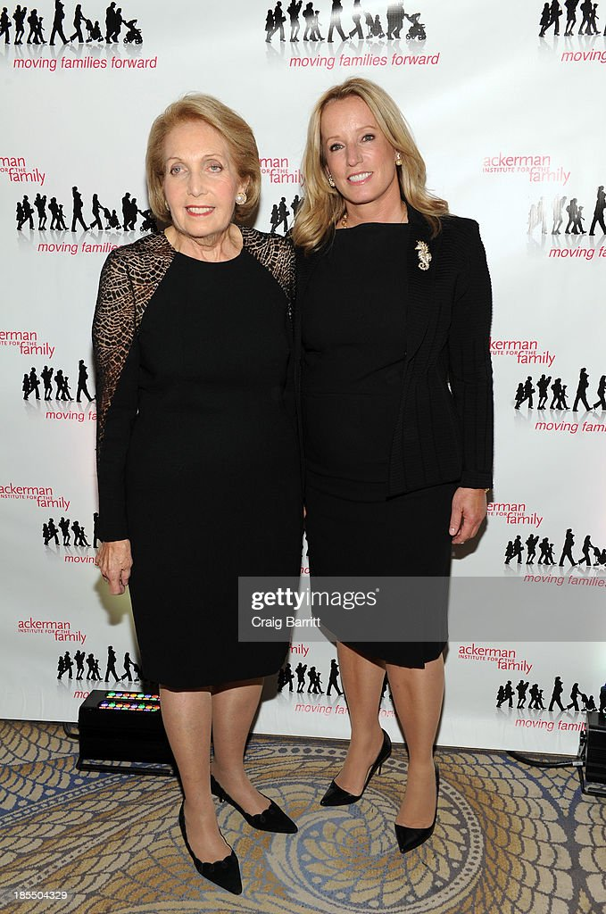 Alice K. Letter and Martha Fling attend the 2013 Families Moving Forward gala at The Waldorf Astoria on October 21, 2013 in New York City.