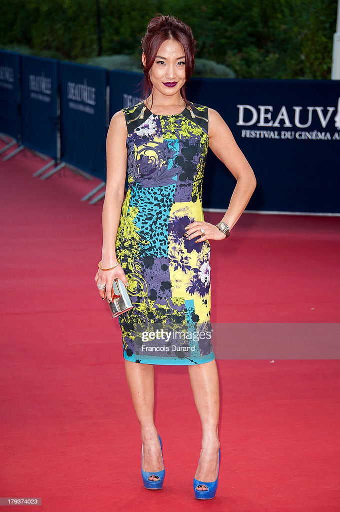 <a gi-track='captionPersonalityLinkClicked' href=/galleries/search?phrase=Alice+Kim&family=editorial&specificpeople=212731 ng-click='$event.stopPropagation()'>Alice Kim</a> arrives at the premiere of the movie 'Joe' during the 39th Deauville American film festival on September 2, 2013 in Deauville, France.