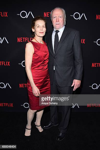 Alice Krige and Scott Wilson attend the premiere of Netflix's 'The OA' at the Vista Theatre on December 15 2016 in Los Angeles California