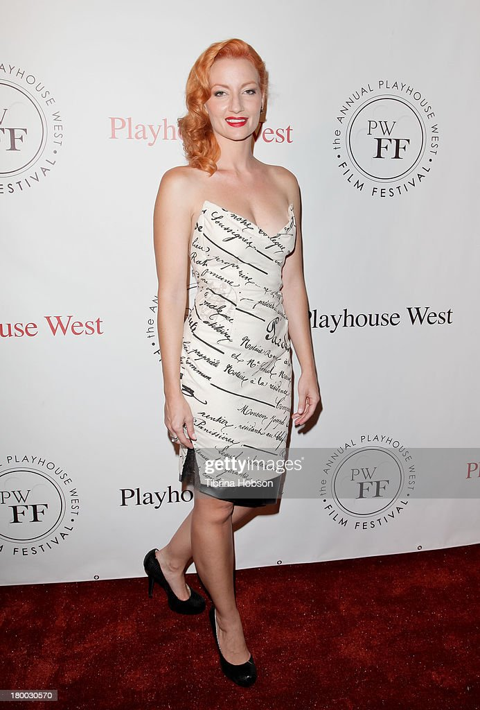 Alice L. Walker attends the 17th annual Playhouse West Film Festival 'Daisy's' premiere at El Portal Theatre on September 7, 2013 in North Hollywood, California.