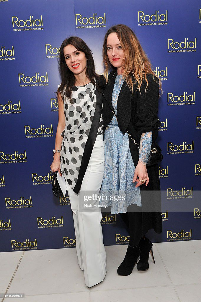 Alice Lara Bohinc and Temperley attend the Rodial Beautiful Awards at St Martin's Lane Hotel on March 19, 2013 in London, England.