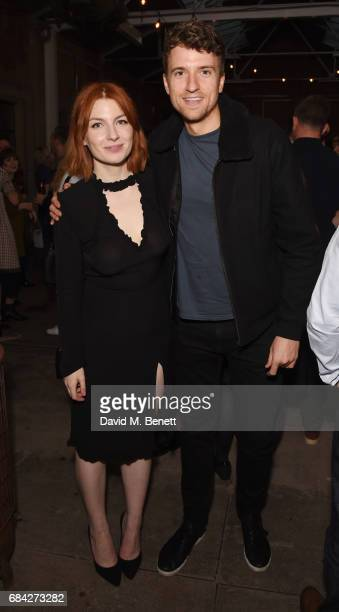 Alice Levine and Greg James attend the launch of new book 'Jackson Levine Round To Ours' by Laura Jackson and Alice Levine at Hoxton Docks on May 17...
