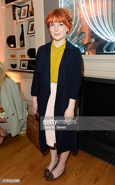Alice Levine arrives at the closing party of 'Les 3 Etages By Dom Perignon' with Sunday Times Style on May 13 2015 in London England